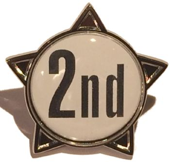 2nd titled star badge